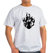 Flaming Cello T-Shirt