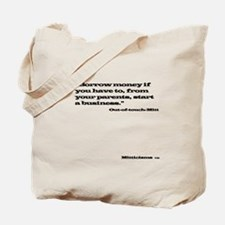 Out of Touch Mitt T-shirt Light Tote Bag