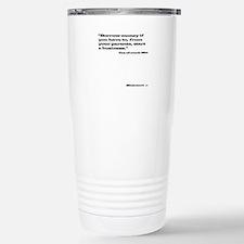 Out of Touch Mitt T-shirt Light Travel Mug