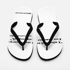 Megaclueless Mitt Flip Flops