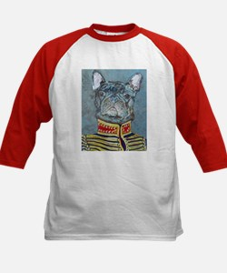 """Frenchie"" Kids Baseball Jersey"