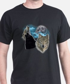 Wolves Moon 3 T-Shirt