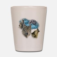 Wolves Moon Shot Glass