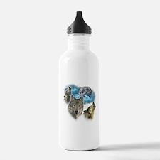 Wolves Moon Water Bottle