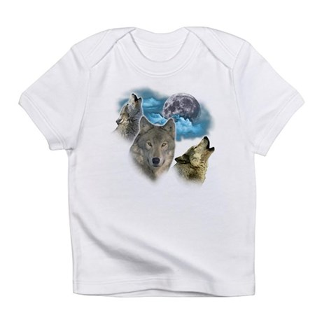 Wolves Moon Infant T-Shirt