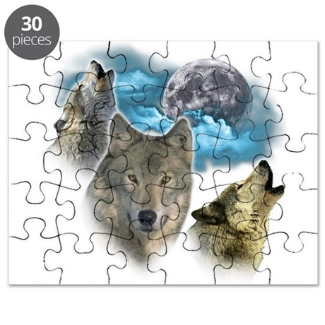 Wolves Moon Puzzle