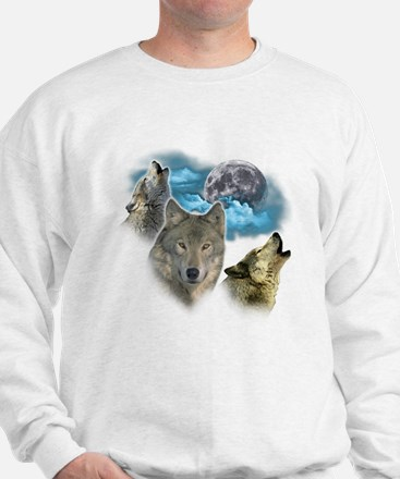 Wolves Moon Sweater