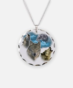 Wolves Moon Necklace