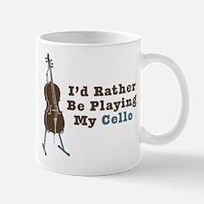 Playing Cello Mug