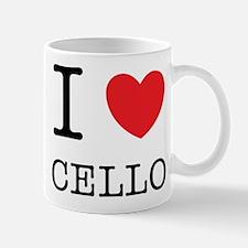 I Heart Cello Mug