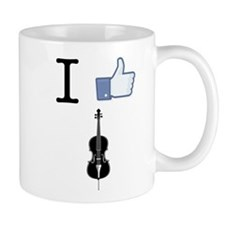 I Like Cello Mug