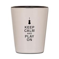 Play On Shot Glass