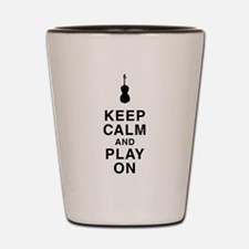Play On Shot Glass