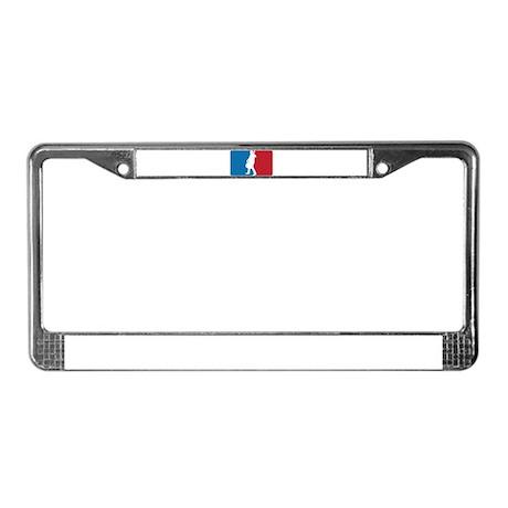 Major League Cello License Plate Frame