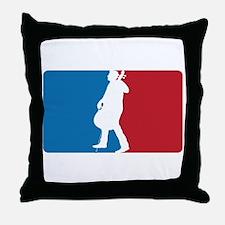 Major League Cello Throw Pillow