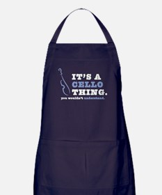 It's A Cello Thing Apron (dark)