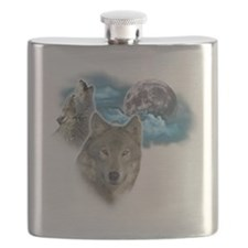 Wolves Moon 2 Flask