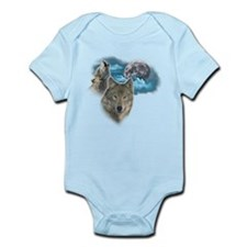 Wolves Moon 2 Infant Bodysuit