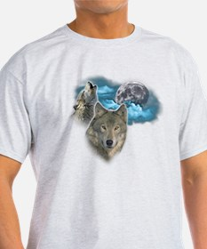 Wolves Moon 2 T-Shirt