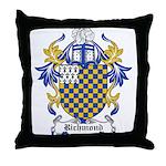Richmond Coat of Arms Throw Pillow