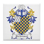 Richmond Coat of Arms Tile Coaster