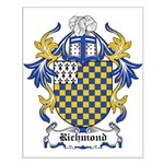 Richmond Coat of Arms Small Poster