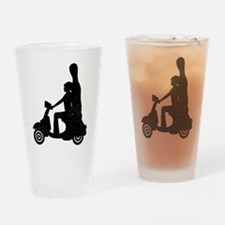 Cello Rider Drinking Glass