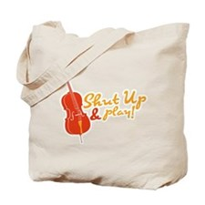 Shut Up & Play Tote Bag
