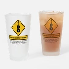 Surgeon General Drinking Glass