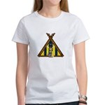 Cute Viking Warrior at Tent Women's T-Shirt