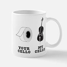 Your Cello vs My Cello Mug