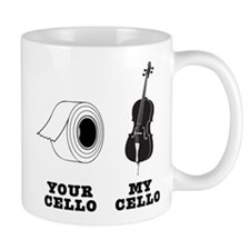 Your Cello vs My Cello Mug