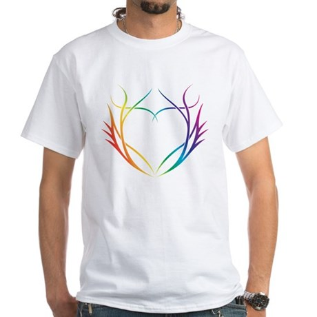 Tribal (Heart) - Dark Tee Shirts T-Shirt
