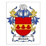 Richard Coat of Arms Small Poster