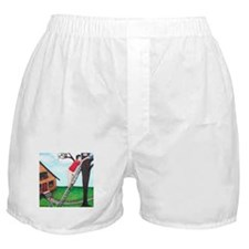 Kitty Coffee Boxer Shorts