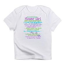 Funny Flower girl Infant T-Shirt