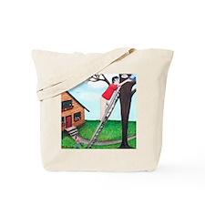 Kitty Coffee Tote Bag