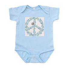 Peace Sign Baby Onesie, Snap Tee