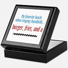 Burger Fries and a Shake Keepsake Box