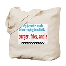 Burger Fries and a Shake Tote Bag
