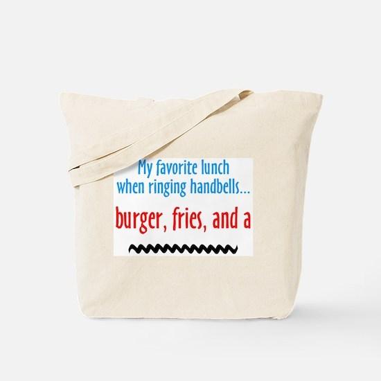 Burger Fries and a Shake Tote Bag