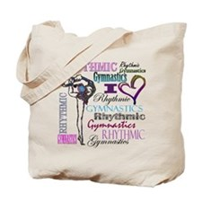 I Heart Rhythmic Gymnastics Tote Bag