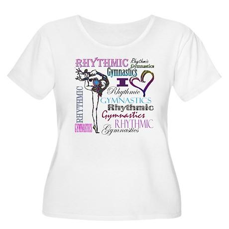 I Heart Rhythmic Gymnastics Women's Plus Size Scoo