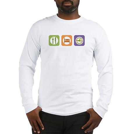 Eat Sleep NYSAFLT Long Sleeve T-Shirt