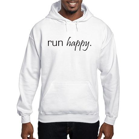 Run Happy Hooded Sweatshirt