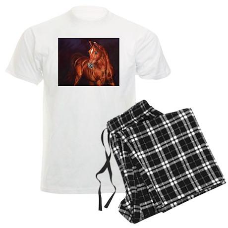 Arabian Stallion Men's Light Pajamas