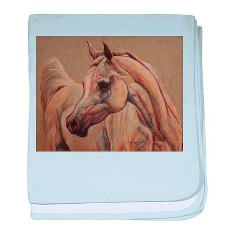Arabian Horse baby blanket