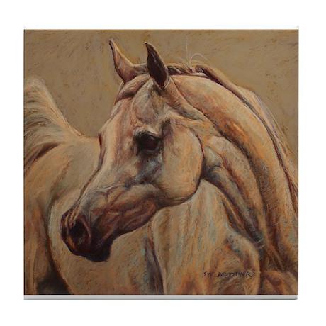 Arabian Horse Tile Coaster