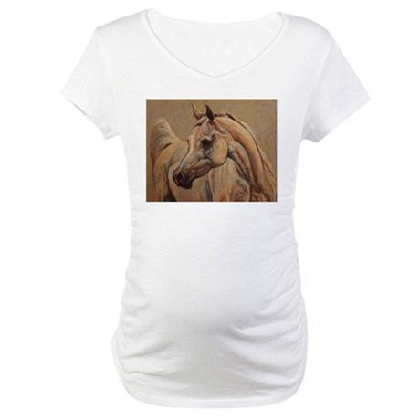 Arabian Horse Maternity T-Shirt