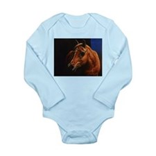 Arabian Horse Long Sleeve Infant Bodysuit
